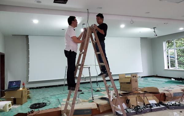 武装部多功能厅多媒体智能化yabo手机娱乐yabox10