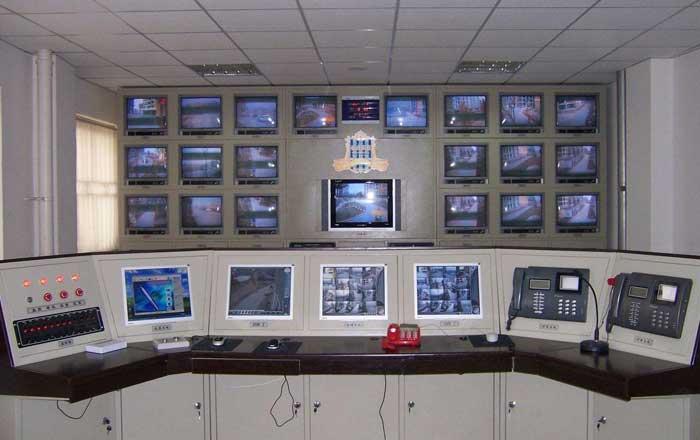 安防监控室